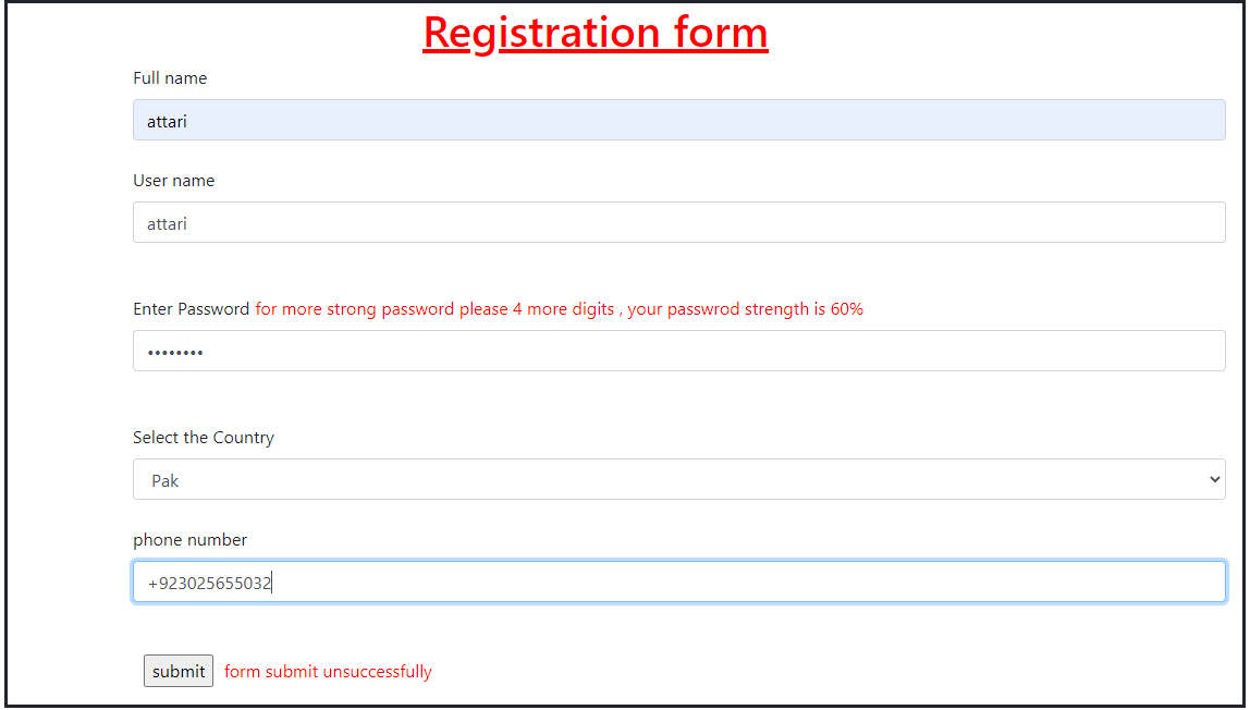 Custom Jquery Form Validation With Example(new)